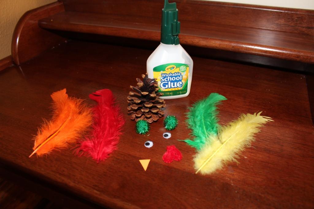turkey craft supplies